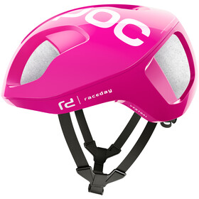 POC Ventral Spin Cykelhjelm, fluorescent pink